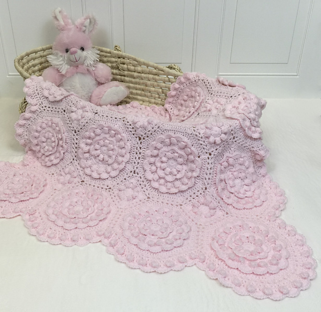 Ravelry: Matelassé Crochet Baby Blankets - patterns