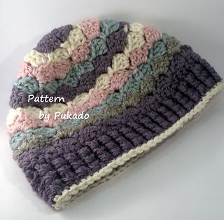 514c4c4d2 Triple S - Slanted Shell Stitch pattern by Patricia Stuart