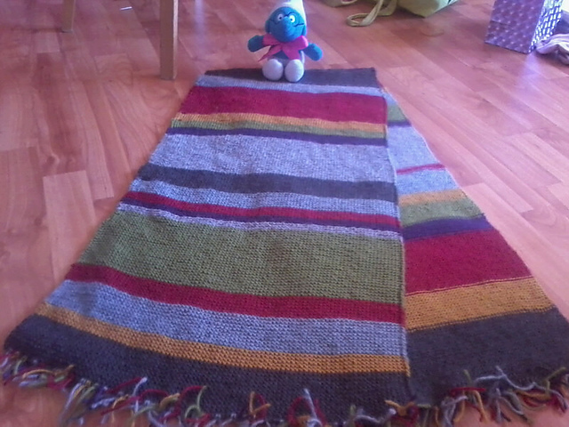 Ravelry Washuchans S14 Tom Baker Scarf Of Doom With No Added Holes