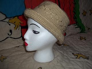 Ravelry  Flat Top Rolled Brim Hat pattern by James Lee Kelley 79099ceabc4