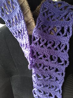 Ravelry crochet awareness ribbon scarf pink for breast cancer or ravelry crochet awareness ribbon scarf pink for breast cancer or other causes pattern by naztazia dt1010fo