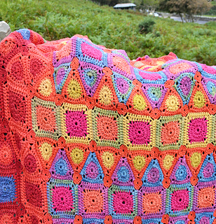 Ravelry: Arabian Nights Crochet Blanket pattern by Amanda ...