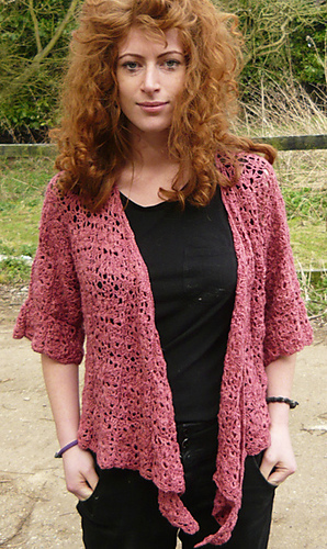 Ravelry Millicent Crochet Cardigan Pattern By Amanda Perkins