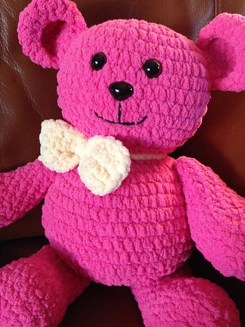 Ravelry Blanket The Teddy Bear Pattern By Rays Crochet