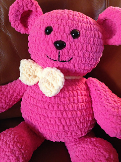 Ravelry Blanket The Teddy Bear Pattern By Ray S Crochet