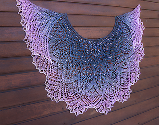 Pearla Lace Shawl Pattern By Anna Victoria Ravelry