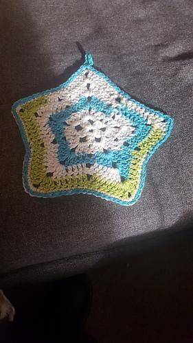 Ravelry Little Star Dish Cloth Or Wash Cloth Pattern By Elizabeth
