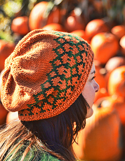 Ravelry Tangled Pumpkin Vines Hat Pattern By Cynthia Spencer