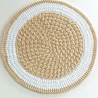 Round Crochet Rug - A Quick to Stitch Project pattern by Julie Oparka