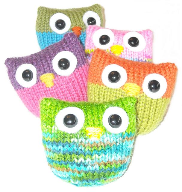 Ravelry Owl Puffs Pattern By Jenna Krupar