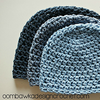 Ravelry Half Double Crochet Cotton Hat Pattern By Rhondda Mol