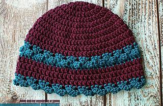 Ravelry  I Feel Pretty ~ Women s Crochet Hat pattern by Rhondda Mol ... 16c2ceca4c3