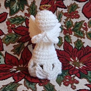 Ravelry Charity Christmas Angel Ornament Pattern By Rhondda Mol