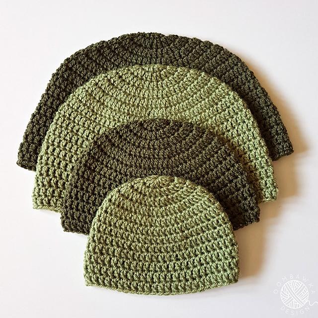 Ravelry DK Double Crochet Hat Pattern By Rhondda Mol Oombawka Design Custom Crochet Hat Pattern Free
