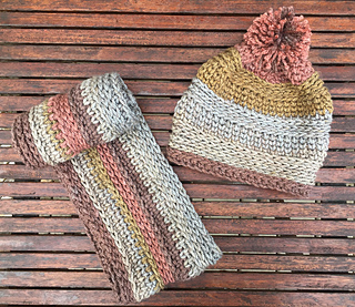 Ravelry Ginger Spice Hat And Cowl Set Pattern By Rich