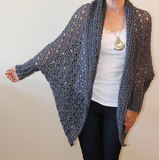 Ravelry Carleton Cocoon Sweater Pattern By Jennifer Ozses