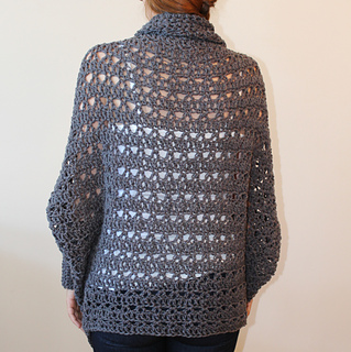 c7ae5b8163aec9 Ravelry  Carleton Cocoon Sweater pattern by Jennifer Ozses