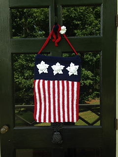 Ravelry Patriotic Garden Flag Pattern By Rilla Edwards