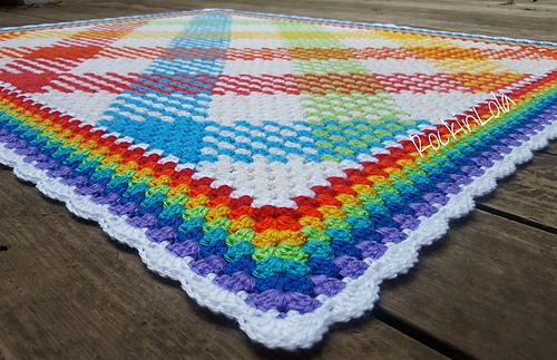 Crochet Blanket 5.5 Mm
