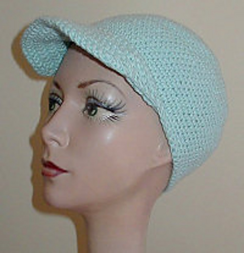 Ravelry Crocheted Baseball Cap Pattern By Purple Dandylion