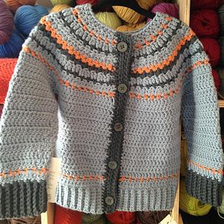 Ravelry Fairly Isleish Cardigan Sweater For Boys And Girls Pattern
