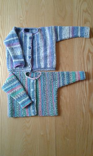44ee3d0b44b8 Ravelry  Little Flower Garter Stitch Cardigan pattern by Audrey Wilson