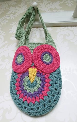 Ravelry Crochet Owl Bag Pattern By Ruth Maddock