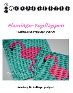 Ravelry Flamingo Topflappen Potholder Pattern By Sapri