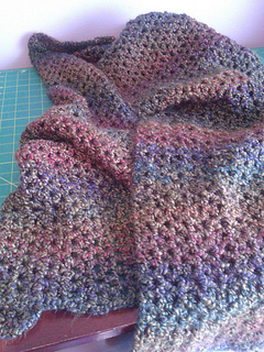 Ravelry Tranquil Comfort Shawl Pattern By Lion Brand Yarn