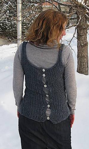 0c5f6882b09 Ravelry  Morse code vest pattern by Sarah Sutherland