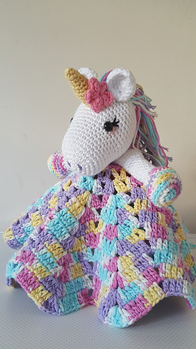 Ravelry Unicorn Snuggle Blanket Pattern By Sarah Louise Read