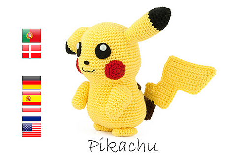 Amigurumi Pokemon Patterns Free : Ravelry sabrina s crochet patterns