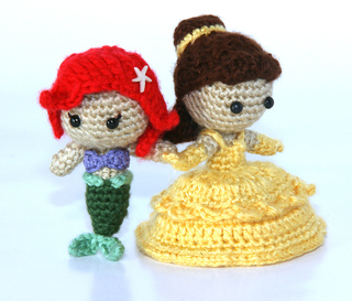 Ravelry: Ariel The Little Mermaid Pattern Amigurumi Doll ...