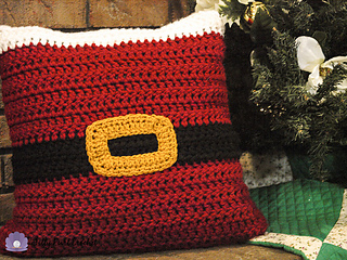 Santa Pillow Sham Pattern By Katie Clary Ravelry
