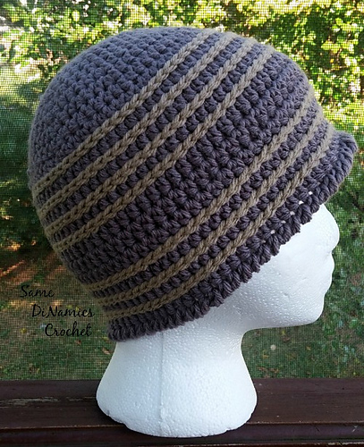Ravelry: Simple, Men\'s Beanie pattern by Dianne Hunt