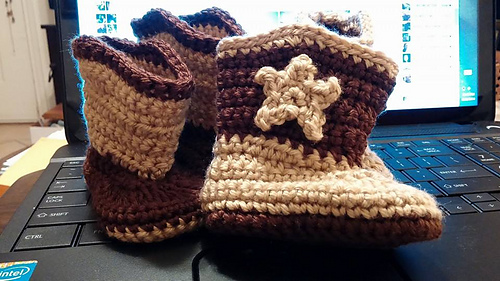 Ravelry Baby Boot Scootn Boots Pattern By Elizabeth Alan