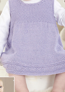 6fde15571 Ravelry  Pinafore  4470 pattern by Sirdar Spinning Ltd.