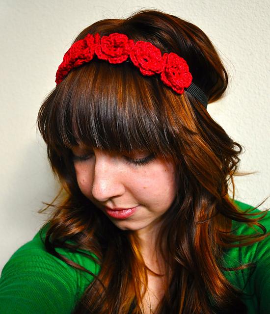 Ravelry: The Flower Crown pattern by Sara Dudek