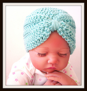 d26ae6dba Baby Turban Hat pattern by Sarah Taylor x