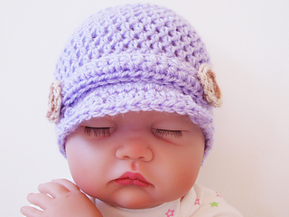 313513d9 Ravelry: Baby Newsboy Hat pattern by Sarah Taylor x