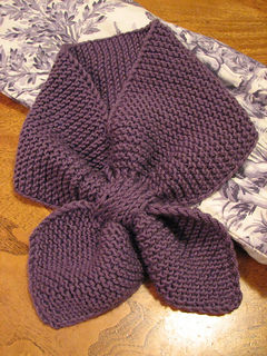 Knitting Pattern For Small Neck Scarf : Ravelry: Knitted Neck Scarf pattern by Martha Stewart ...