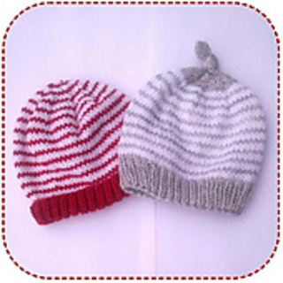 3bc0386b7 Ravelry: Simple striped baby hat pattern by A la Sascha