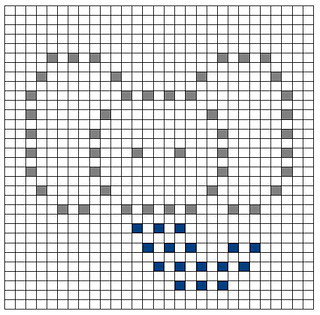 Ravelry Elephant Bobble Chart Pattern By Kari Philpott