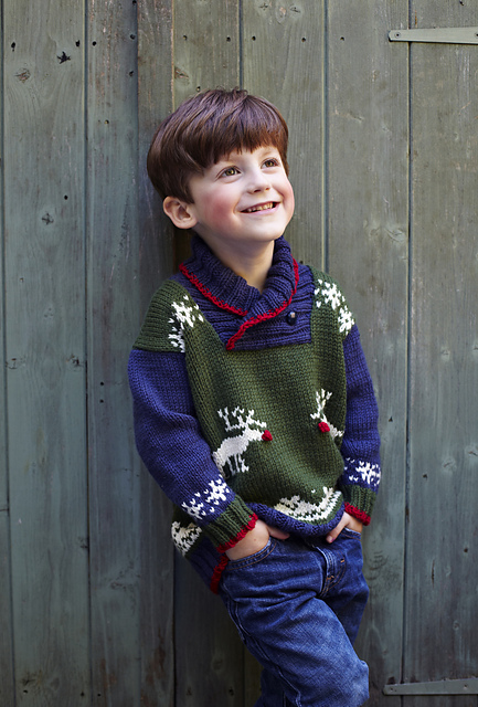 Ravelry Reindeer Jumper 2012 Pattern By Debbie Bliss