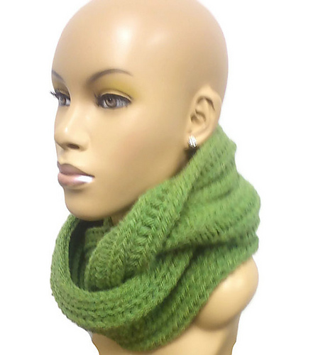 Ravelry Loom Knit Chunky Cowl And Infinity Scarf Pattern By