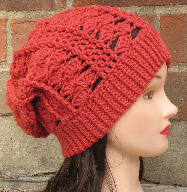 Ravelry Clara Slouchy Beanie Pattern By Justine Walley