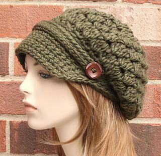 Ravelry  Aoife Newsboy Hat pattern by AlyseCrochet 56852da7004