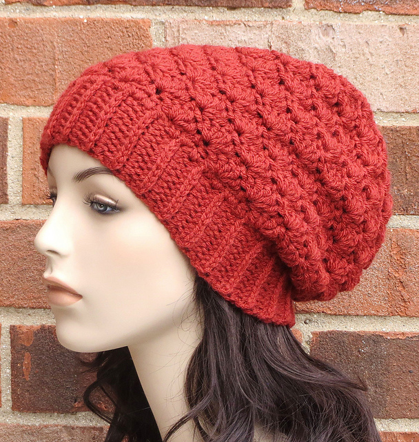 Ravelry: Cadence Slouchy Hat pattern by Justine Walley