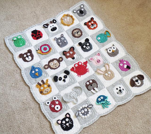 Ravelry Zookeepers Blanket Pattern By Alysecrochet
