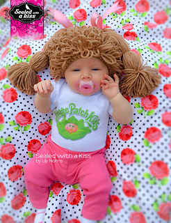 Ravelry  Cabbage Patch Hat Wig pattern by Lily Norris c57d0d0bd1c